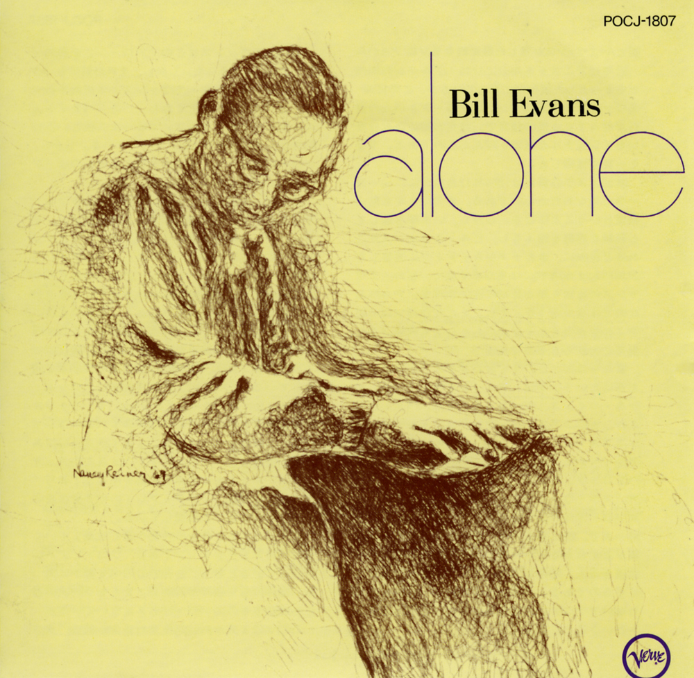 ideas for photo album covers - 1968 1990 Bill Evans Alone [V6 8792 US POCJ 1807